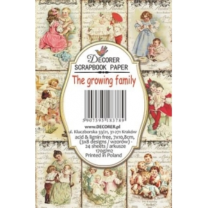 Decorer The Growing Family Paper Pack