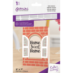 Gemini Open Window Cut and Emboss Folder
