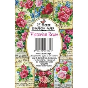 Decorer Victorian Roses Paper Pack