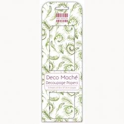 First Edition FSC Deco Mache - Green Sprig