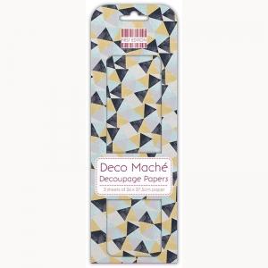 First Edition FSC Deco Mache - Triangle Repeat