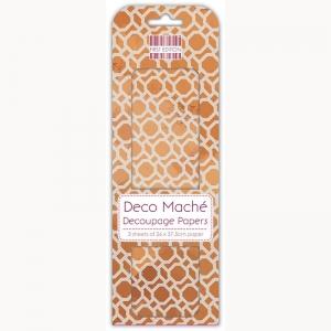 First Edition FSC Deco Mache - Copper Repeat