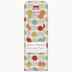 First Edition FSC Deco Mache - Tree Polka