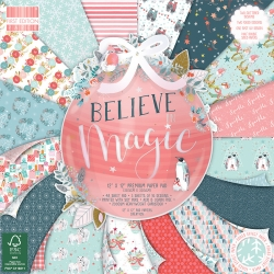 First Edition Believe in Magic 12x12 Inch Paper Pad (FEPAD215X19)