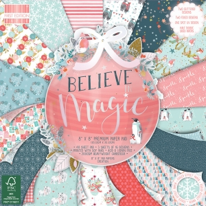 First Edition Believe in Magic 8x8 Inch Paper Pad