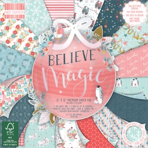 First Edition Believe in Magic 6x6 Inch Paper Pad