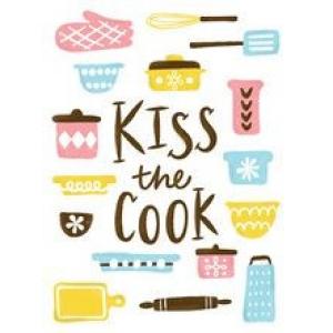 Cricut Iron-On Designs Kiss the Cook