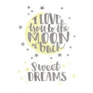 Cricut Iron-On Designs Love You to the Moon