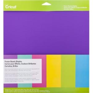 Cricut Poster Board 12x12 Inch Brights
