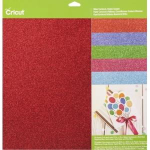 Cricut Cardstock Glitter Cardstock Brights Sampler