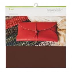 Cricut Genuine Leather 12x12 Inch Dark Brown
