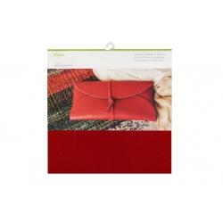 Cricut Cranberry 12x12 Inch Genuine Leather