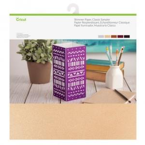 Cricut Shimmer Paper 12x12 Inch Classic Sampler
