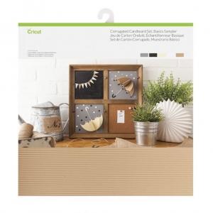 Cricut Corrugated Cardboard 12x12 Inch Basics Sampler