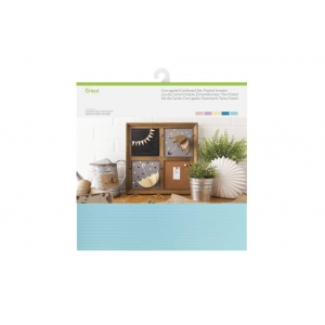 Cricut Pastels Sampler 12x12 Inch Corrugated Cardboard Set