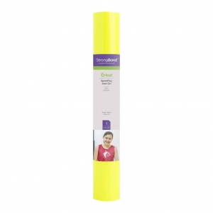 Cricut SportFlex Iron-On Bright Yellow 12x24 Inch