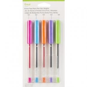 Cricut Extra Fine Point Pen Set Brights