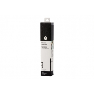 Cricut Smart Iron-on 33x273cm 1 sheet (Glitter Black)