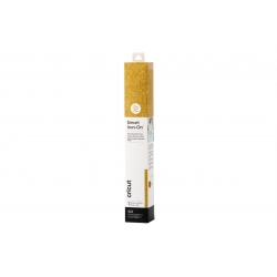 Cricut Smart Iron-on 33x91cm 1 sheet (Glitter Gold) (2008673)