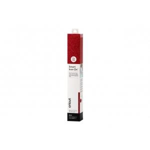 Cricut Smart Iron-on 33x91cm 1 sheet (Glitter Red)