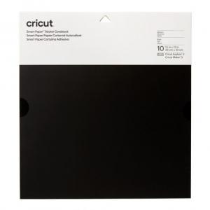 Cricut Smart Sticker Cardstock 33x33cm 10 sheets (Black)