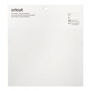 Cricut Smart Sticker Cardstock 33x33cm 10 sheets (White)