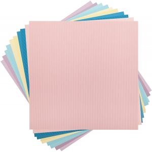 Cricut Foil Poster Board, Pearl sampler 12x12 Inch
