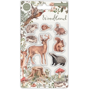 Craft Consortium Woodland Animals Stamps