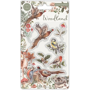 Craft Consortium Woodland Birds Stamps