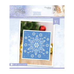 Crafter's Companion Glittering Snowflakes Metal Die Frosted Dimension