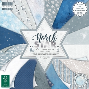 First Edition North Star 8x8 Inch Paper Pad