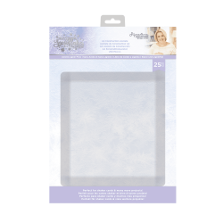 Crafter's Companion Glittering Snowflakes A4 Construction Acetate