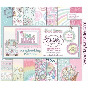 DayKa Trade Be Happy 12x12 Inch Paper Pack