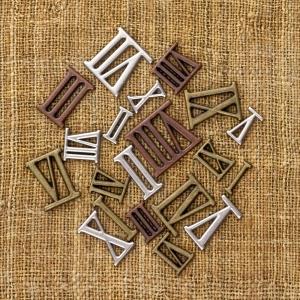 Finnabair Vintage Mechanicals Mini Roman Numbers