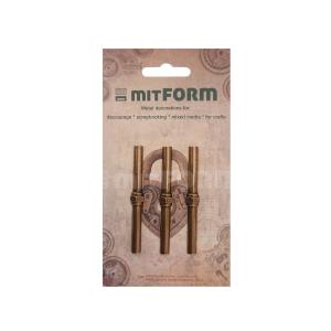 Mitform Tubes & Valves 1 Metal Embellishments (