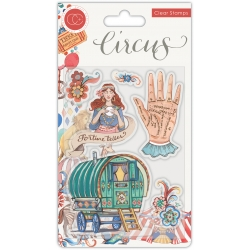 Craft Consortium Circus Fortune Teller Clear Stamps