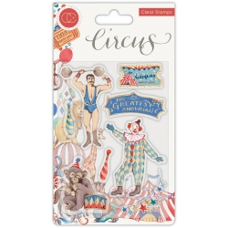 Craft Consortium Circus Greatest Show Clear Stamps