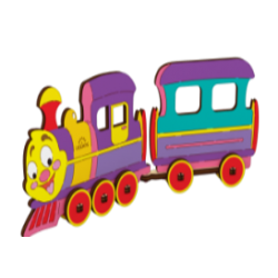 Ugears-Kid Locomotief