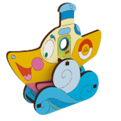 Ugears-Kids-Stoomboot