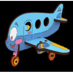 Ugears-Kids Vliegtuig