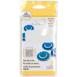 EK Success Tools Foam Dot Circles 0.125 Inch