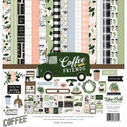 Echo Park Coffee & Friends 12x12 Inch Collection Kit