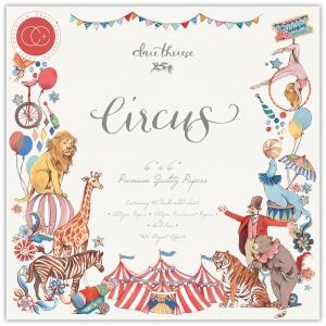 Craft Consortium Circus 6x6 Inch Paper Pad