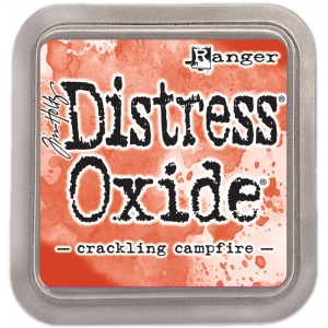 Ranger • Tim Holtz distress oxide ink pad Crackling Campfire