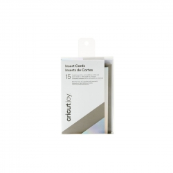 Cricut Joy Insert Cards Gray/Silver/Holographic (Small) (2008795)