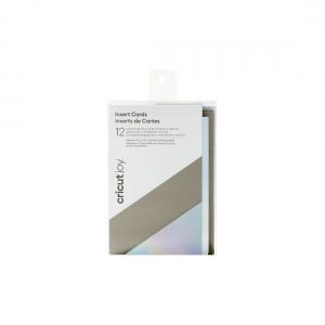Cricut Joy Insert Cards Gray/Silver/Holographic (Large)