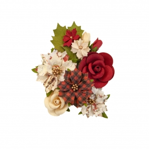 Prima Marketing Christmas In The Country Flowers Christmas Song