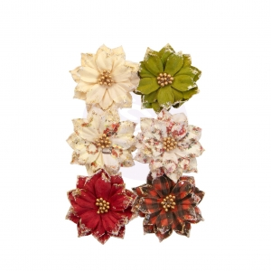 Prima Marketing Christmas In The Country Flowers Warm Mittens