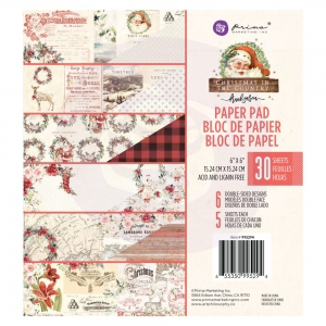 rima Marketing Christmas In The Country 6x6 Inch Paper Pad