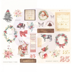 Prima Marketing Christmas In The Country Chipboards